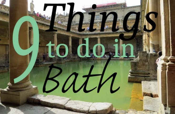 9 things to do in bath england
