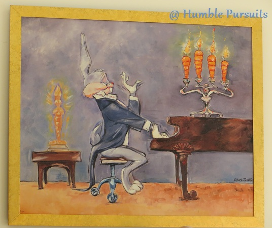 Bugs Bunny Playing Piano Painting