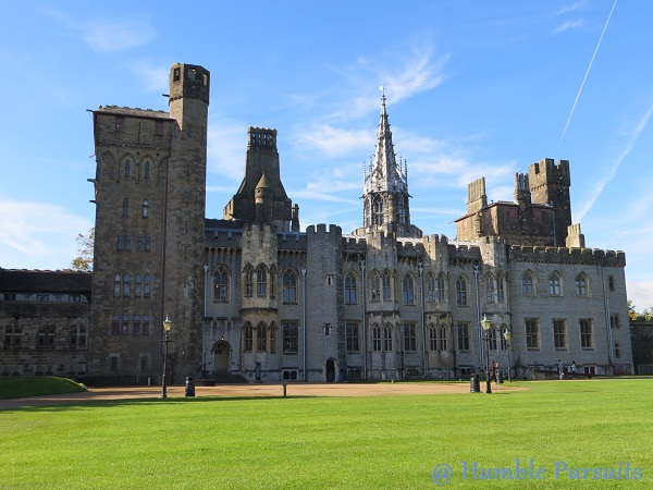 Castle House, Cardiff Castle, Cardiff, Wales, UK