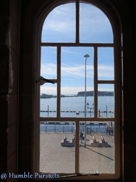 Pierhead Building Window View