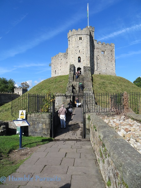 Norman Keep, Cardiff Castle, Cardiff, Wales, Britain, UK