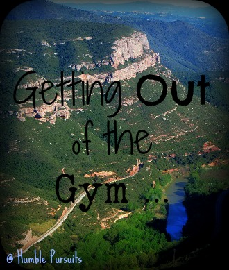 Getting out of the gym