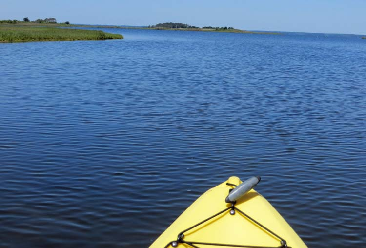 Kayaking, Assateague Island National Seashore, Berlin, Maryland