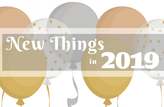 New Things in 2019